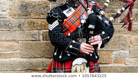 Scottish bagpiper Stock photo © RuthBlack