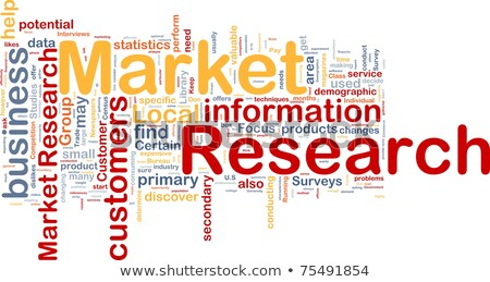 Research. Wordcloud Concept. stock photo © tashatuvango