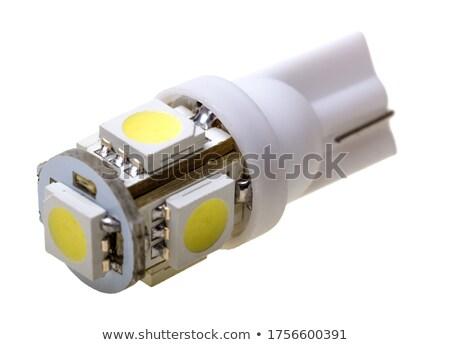 Led lamp for auto with 5 LEDs Stock photo © nemalo