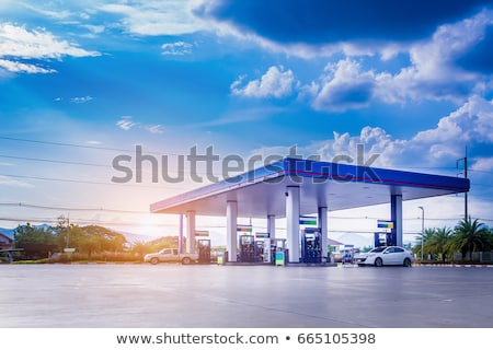Stock photo: fuel station
