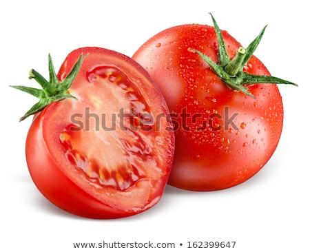 Half a fresh tomato Stock photo © raphotos