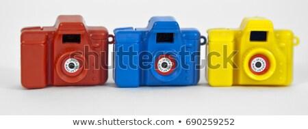 安い · カメラ · 旅行 · プラスチック · 本当の · 35ミリメートル - ストックフォト © inarts