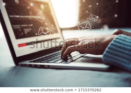 courriel · internet · monde · technologie · mail · communication - photo stock © burakowski