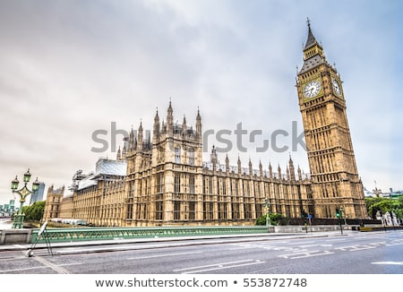 paleis · westminster · brug · huizen · parlement · Big · Ben - stockfoto © chrisdorney