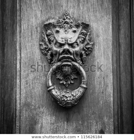 Old Door knoker Stock photo © smuki
