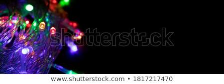 Bandeira eletricidade espaço texto papel abstrato Foto stock © elenapro