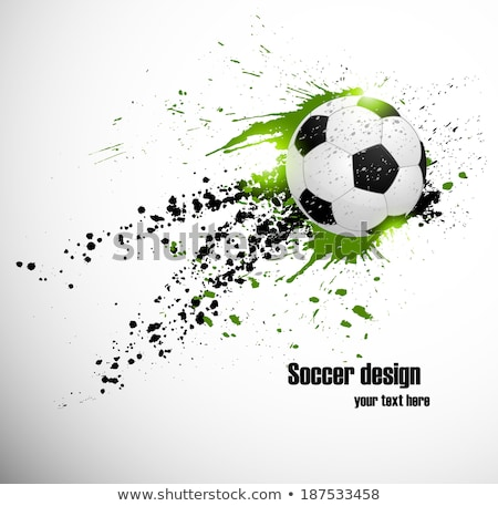 Brasil 2014 World soccer championship abstract background Stock photo © DavidArts