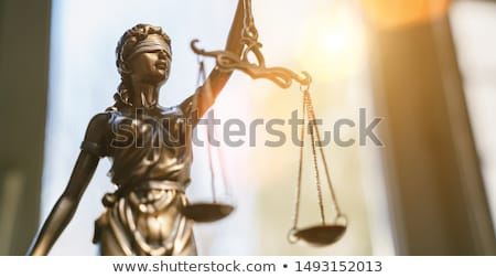 law and order stock photo © dzejmsdin