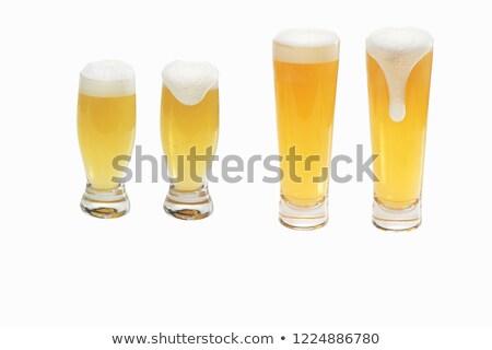 пусто · пива · стекла · алкоголя - Сток-фото © loopall