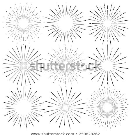 Star lumière explosion résumé illustration Photo stock © derocz