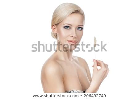 Fantastyczny portret pani kobieta moda Zdjęcia stock © konradbak