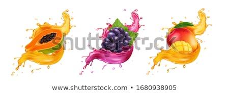 Foto stock: Cóctel · Splash · aislado · blanco · agua · fiesta