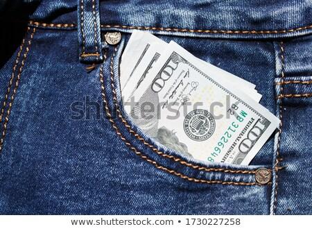 Money in pocket jeans Stock photo © saransk