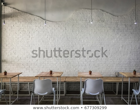 Modern and cozy facade of restaurant, cafe and bar. Stock photo © art9858