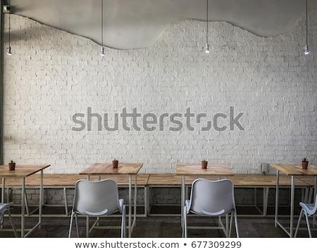 Nowoczesne fasada restauracji Kafejka bar Zdjęcia stock © art9858