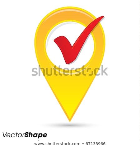 mapa · gps · localização · ícone · símbolo - foto stock © almagami
