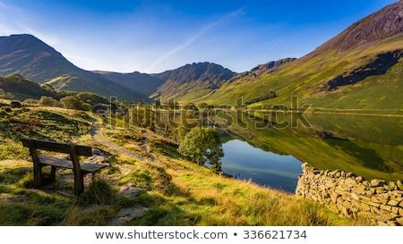 Montana Europa vacaciones turismo brillante Foto stock © chris2766