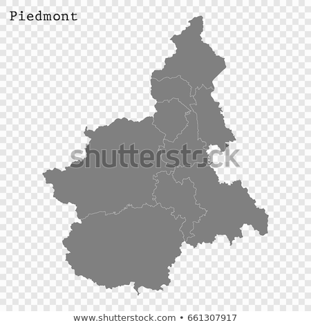 Map of Italy, Asti province Stock photo © Istanbul2009