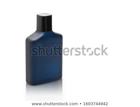 parfüm · üveg · kék · közelkép · divat · ajándék - stock fotó © kirs-ua