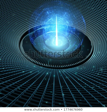 Birth of Artificial Intelligence - Binary Burst Stock photo © AlienCat