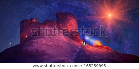 old observatory atop mount stock photo © kotenko