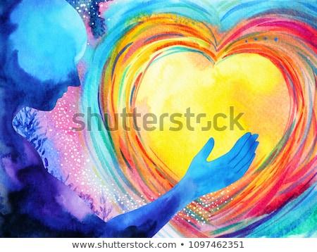 amor · poder · relação · paixão · dor · doloroso - foto stock © lightsource