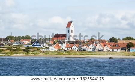 House, Bastad, Sweden, Scandinavia, Europe Stock photo © mikdam