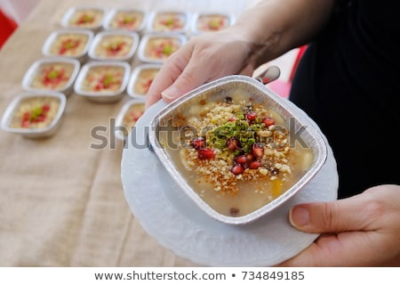 Turkish Noah's Pudding or ashure Stock photo © ozgur