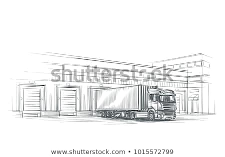 sketchy cargo Stock photo © get4net