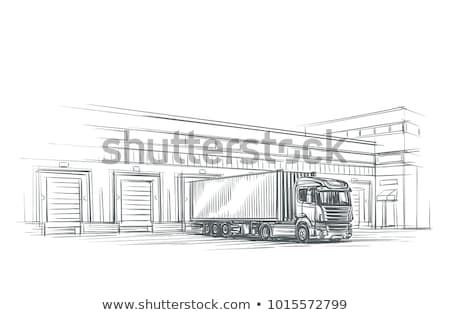 sketchy cargo Stock photo © get4net