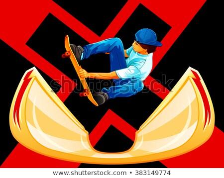 x games skateboarding poster stock photo © sahua