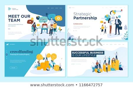 Ontwerp investering geld idee financiële succes Stockfoto © jossdiim