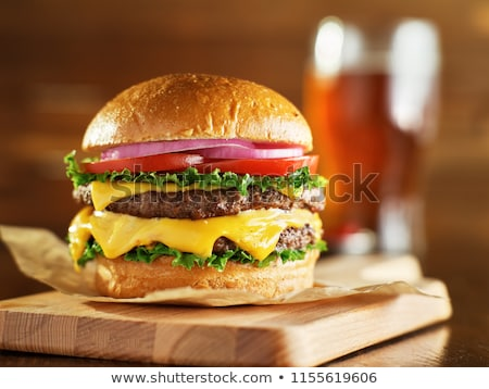 hamburger with cheese Stock photo © LoopAll