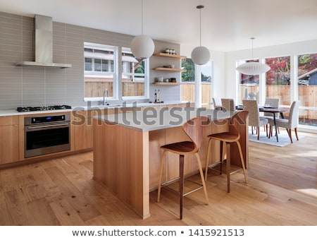 A wooden chair furniture Stock photo © bluering