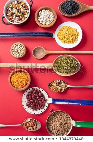 Variété trois différent soupe métal vintage Photo stock © Digifoodstock