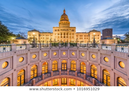 State Capitol Building at Night in Downtown Austin, Texas Stock photo © BrandonSeidel