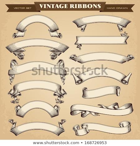 grijs · bruin · vintage · gegraveerd · illustratie · encyclopedie - stockfoto © timurock