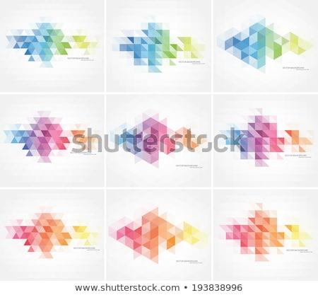 kő · formák · vektor · fehér · absztrakt · művészet - stock fotó © ivaleksa