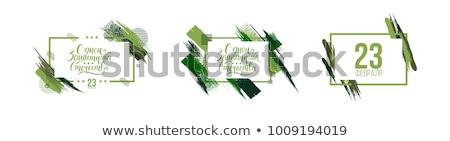 Übersetzung Text Grußkarte Design Zeichen Stock foto © orensila