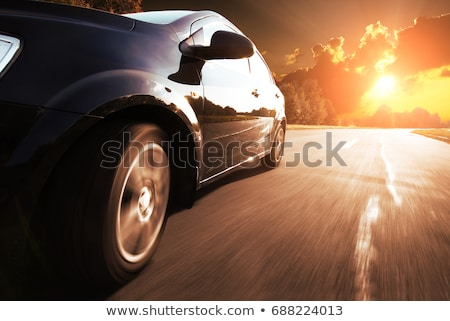 Sarı sedan araba izometrik 3D vektör Stok fotoğraf © Genestro