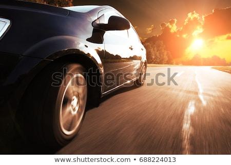 Amarelo sedan carro isométrica 3D vetor Foto stock © Genestro