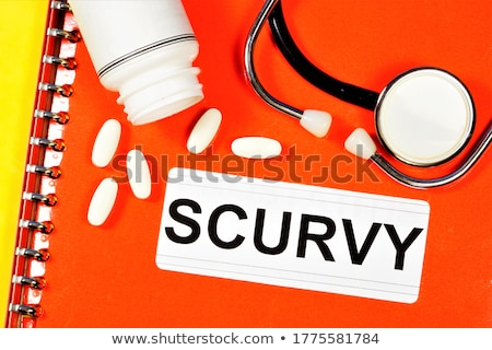 Scurvy Diagnosis. Medical Concept. Stock photo © tashatuvango