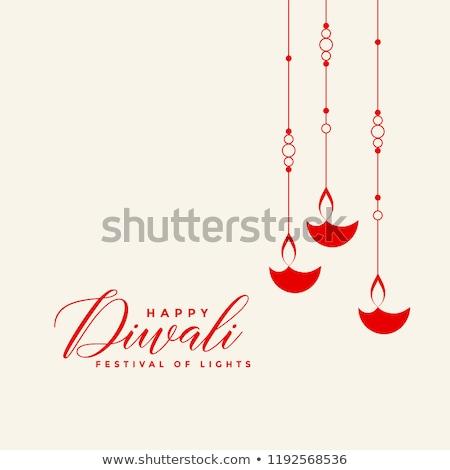 индийской · Дивали · фестиваля · дизайна · подвесной - Сток-фото © sarts