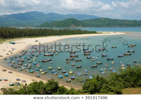 pescaria · aldeia · yen · Vietnã · marinha · surpreendente - foto stock © xuanhuongho