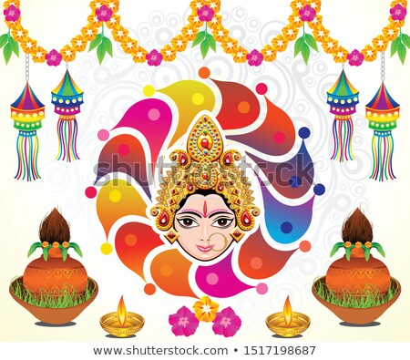 abstract artistic creative navratri background Stock photo © pathakdesigner
