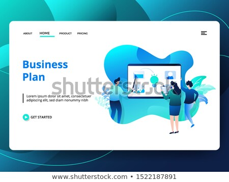 ストックフォト: チーム · アプリ · 開発 · ビジネス · いたずら書き · デザイン