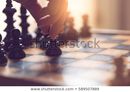 The moves of the chess pawn Stock photo © Olena