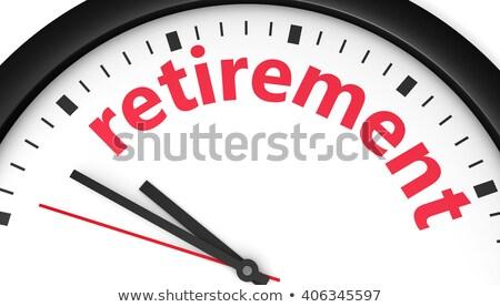 Pension regarder 3d illustration vintage visage Photo stock © tashatuvango