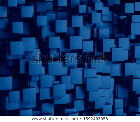corporate buildings in perspective bright colorful tone concept stock photo © janpietruszka