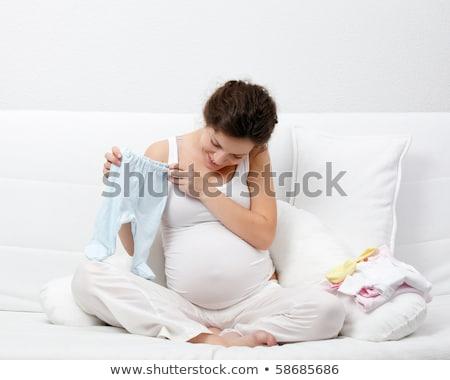 Сток-фото: беременная · женщина · ребенка · одежды · женщину · матери